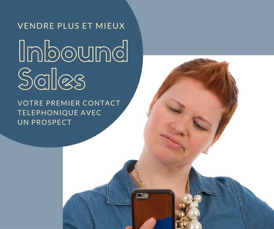 AlaUne - Vendre plus et mieux - inbound sales - premier contact avec un prospect