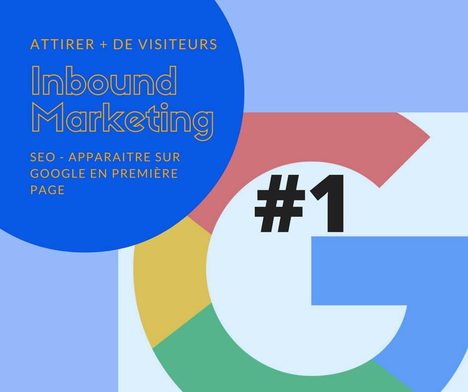 AlaUne-Attirer plus de visiteurs - inbound sales - apparaitre sur Google en première page
