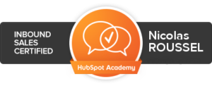 hubspot-inbound-sales-certification-nicolas-roussel
