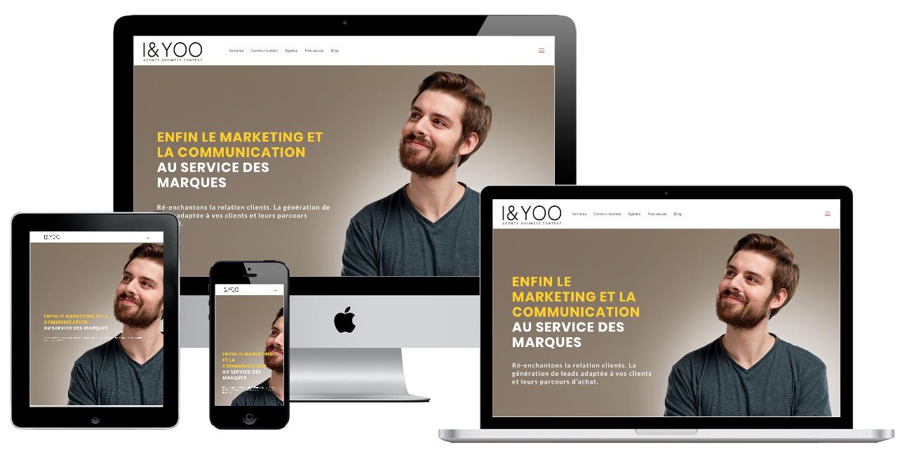 Agence de communication digitale - Création de site web