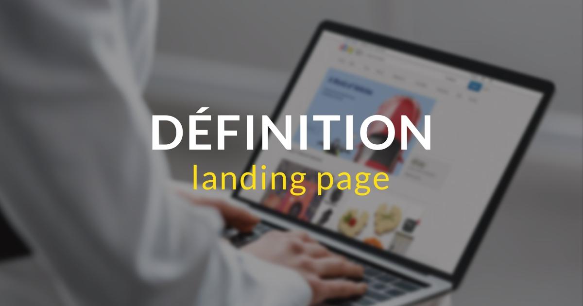 Landing page - définition