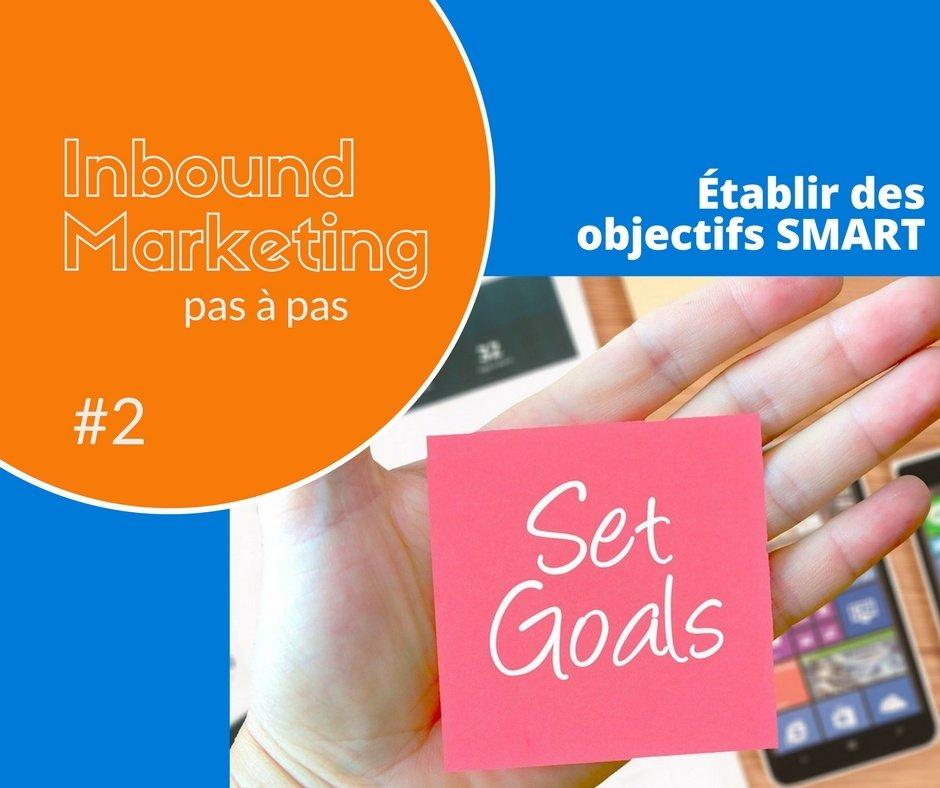Inbound marketing pas à pas #2 – votre objectif marketing (8 exemples)