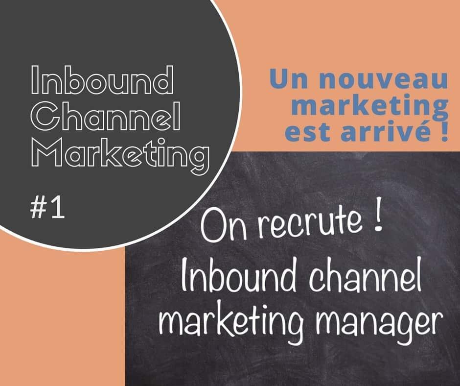 IT channel marketing #1 - L'ère d'un nouveau marketing est arrivée
