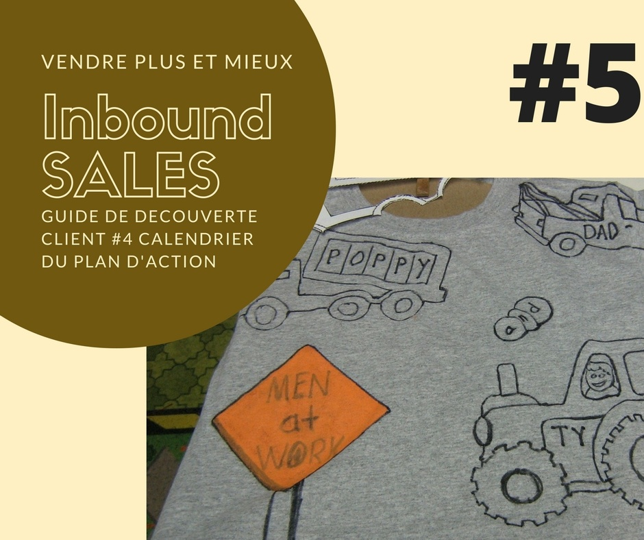 AlaUne-Vendre plus et mieux-Inbound sales - #5 calendrier du plan daction | IandYOO agence inbound marketing Paris