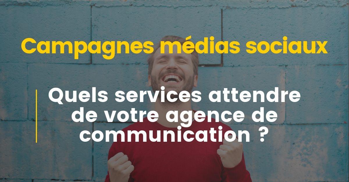 Réseaux sociaux : les services attendre d'une agence de communication
