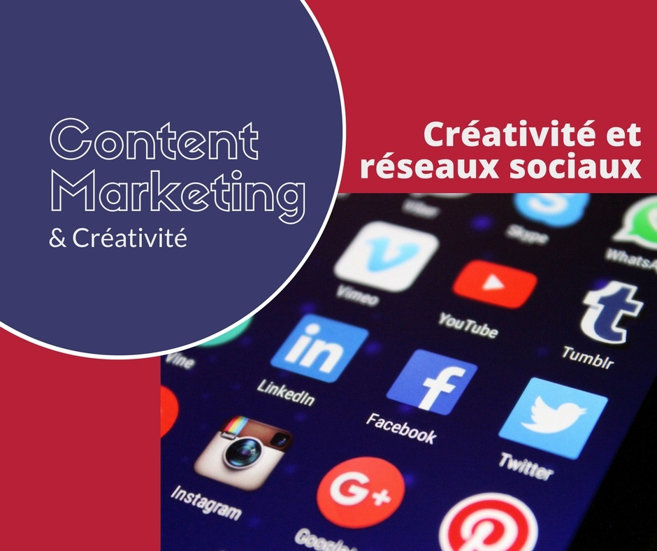 #1 Content marketing - le mix marketing publicité et réseaux sociaux