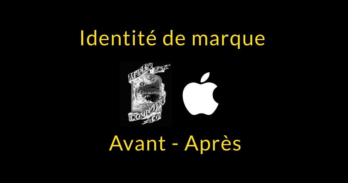 L'évolution de l'identité de marque : avant et après