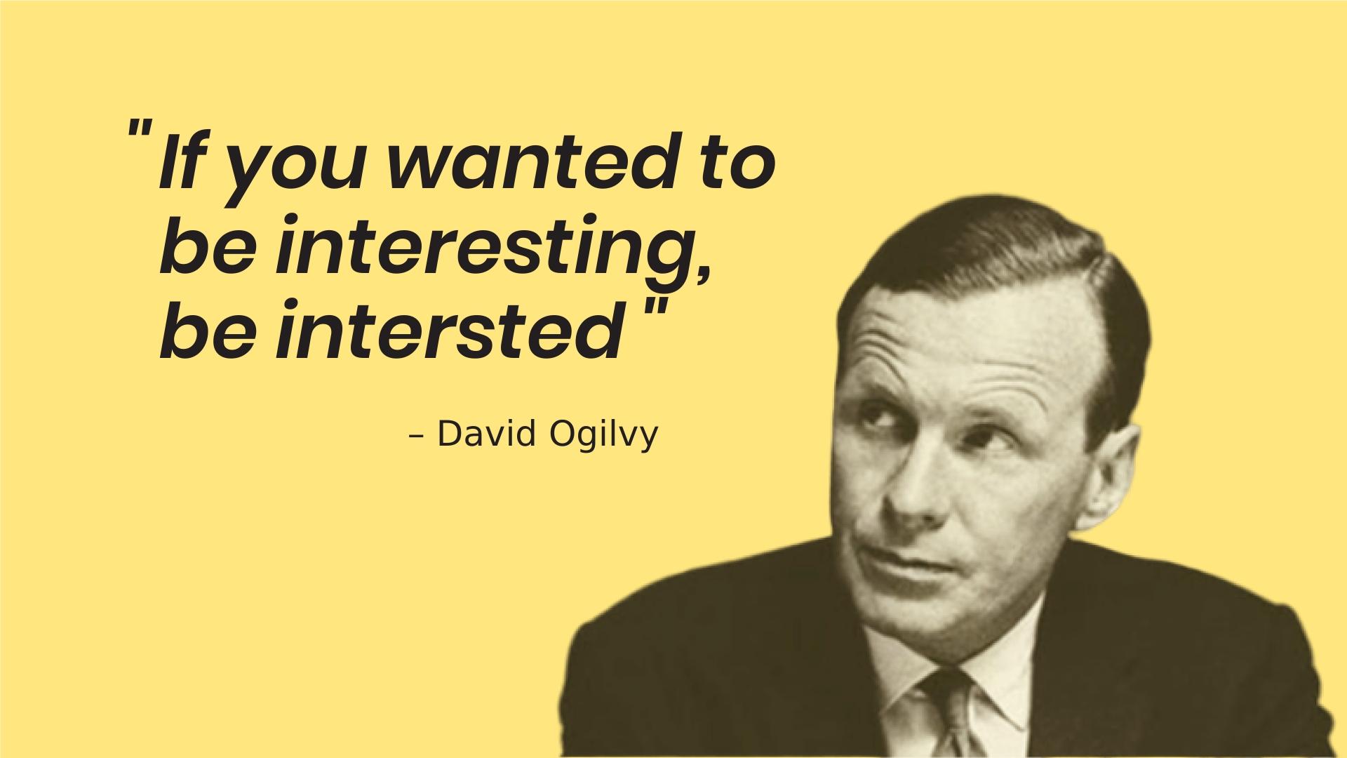 David ogilvy - publicité