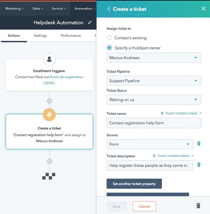 HubSpot bots conversationnels et automatisation