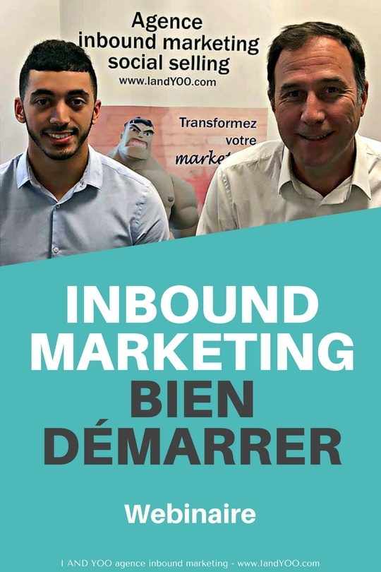 Webinaire bien démarrer en inbound marketing