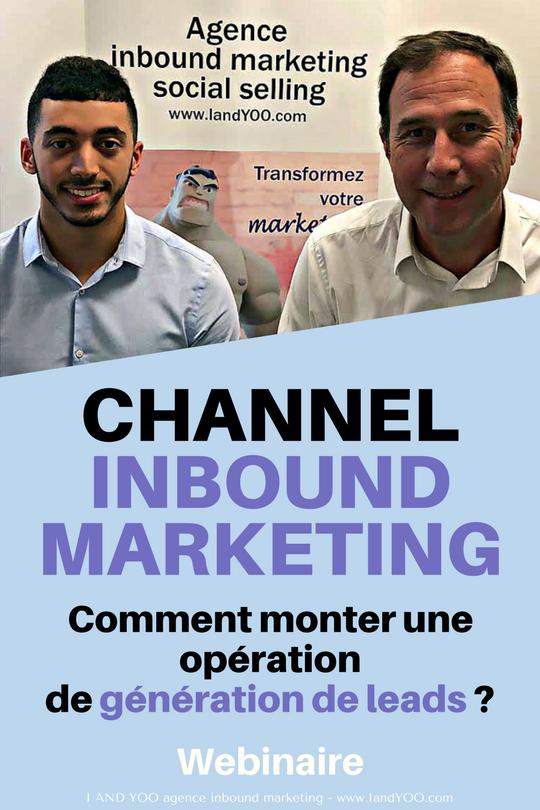 webinaire channel inbound marketing