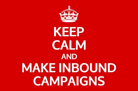 keep calm and make inbound marketing campaigns | I and YOO agence inbound marketing et social selling
