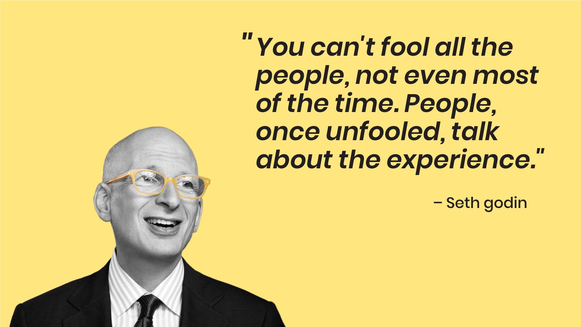 Seth Godin - lead generation inbound marketing