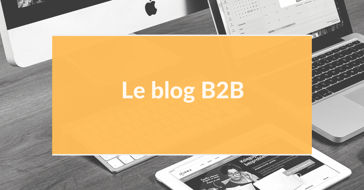 Marketing digital B2B #9 – Le blog B2B