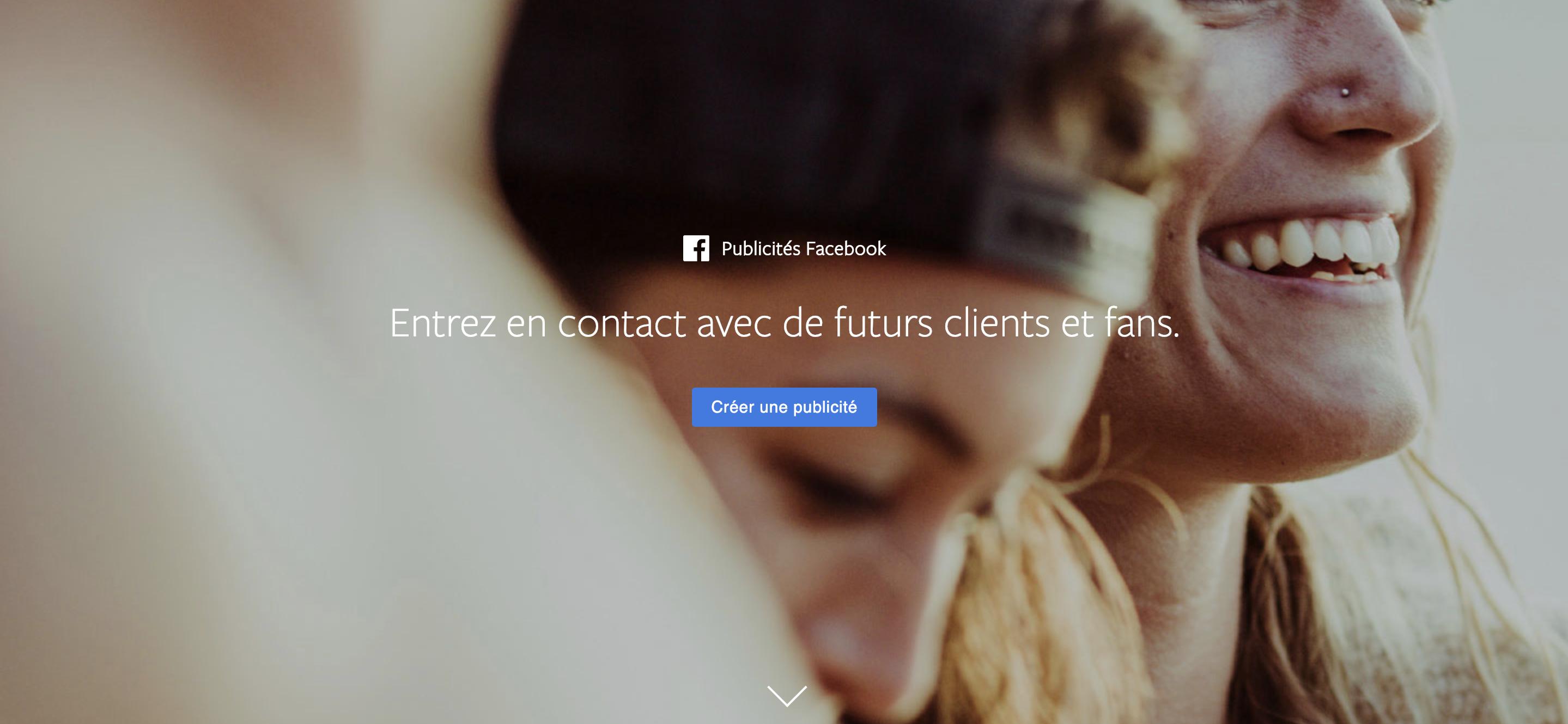 Anatomie d'une campagne de publicité Facebook à 1€ par jour