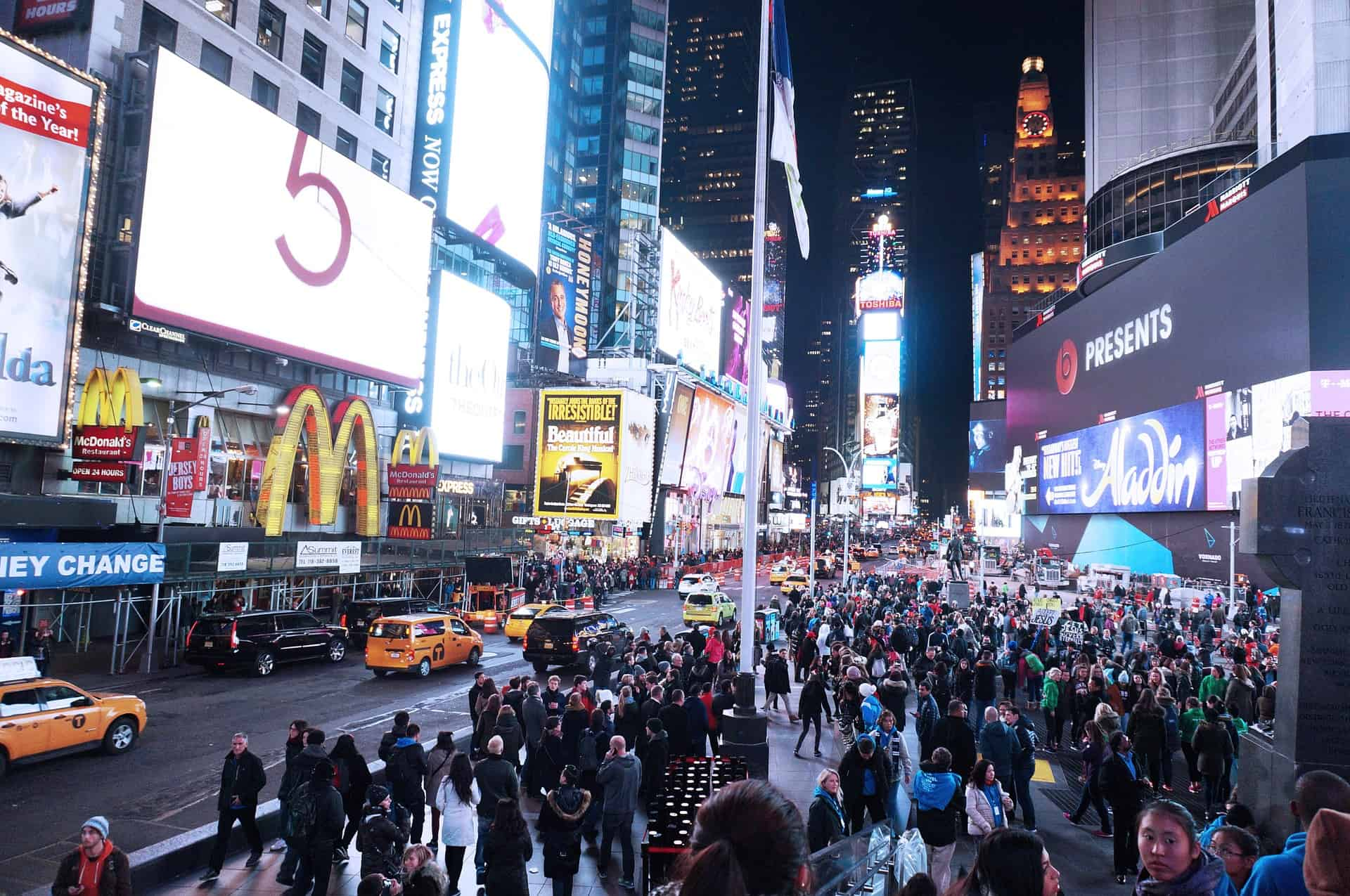 OUTBOUND MARKETING TIMES SQUARE