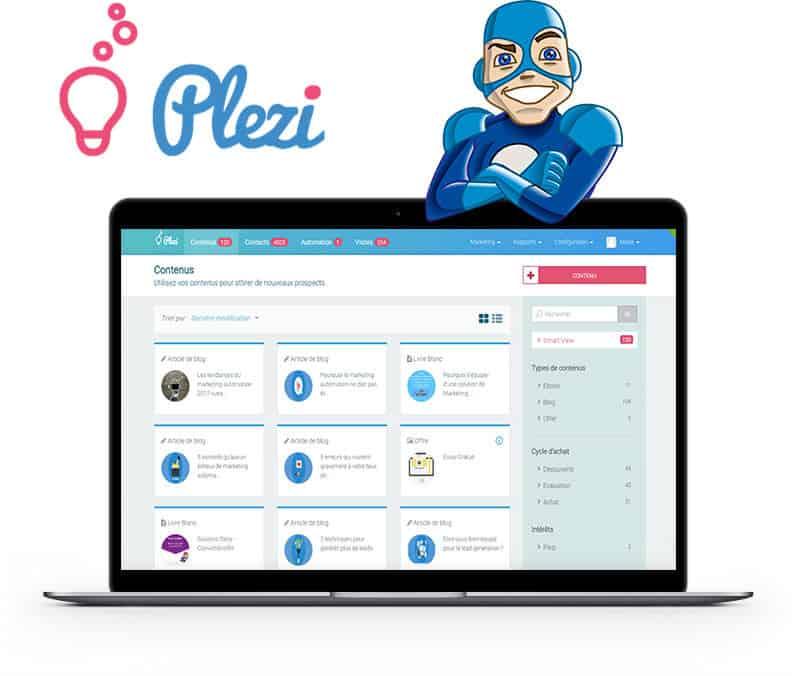 Nous sommes désormais agence marketing Plezi: entretien avec l'éditeur
